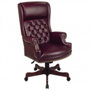 Office Star Products Deluxe High-Back Executive Chair with Arms