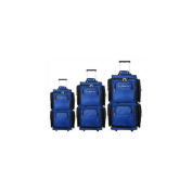 Geoffrey Beene Luggage 3 Piece Vertical Duffle Wheeler Set