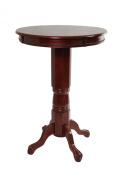 Boraam Industries Inc Florence Pedestal Pub Table in English Tudor
