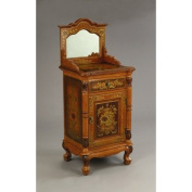 AA Importing Cabinet in Medium Brown