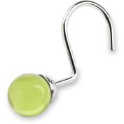 Elegant Home Fashions Acrylic Sage Globe Hooks