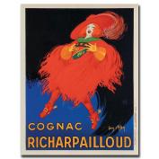 """Trademark Fine Art """"Cognac Richard Pailloud"""" Canvas Art by Jean D'Ylen, 18x24"""