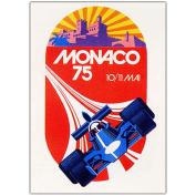 "Trademark Fine Art ""Monaco 5020cm Canvas Art by George Ham, 18x24"