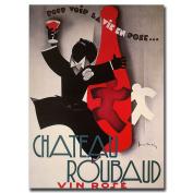 "Trademark Fine Art ""Chateau Roubard"" Canvas Art, 24x32"