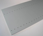 Easy Track Closet Easy Track 72in. White Vertical Panel RV72