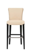 Safavieh Mercer Collection Thomas Leather Barstool