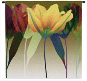 Tulip Wall Tapestry - 51W x 51H in.