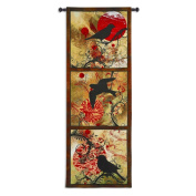 Autumns Perch Wall Tapestry - 25W x 72H in.