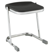 National Public Seating 6618 45.7cm Elephant Z-Stool, Blow Moulded Seat