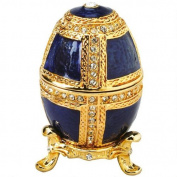 Design Toscano FH861 Anya Faberge-Style Collectible Enamelled Egg Statue