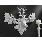 Design Toscano Tres Chic Deer Head Wall Sculpture
