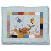 Patch Magic Kids Aquarium Crib Toss Pillow