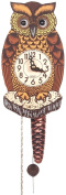 Alexander Taron 861/1 Wind up Owl Clock with Moving Eyes
