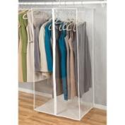 Richards Homewares Clear Vinyl Jumbo Maxi Rack Dress Bag