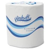 Embossed Bath Tissue, 2-Ply, 500 Sheets/Roll, 48 Rolls/Carton