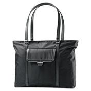 Ultima 2 Ladies Laptop Bag, 12.75 x 4.5 x 18.5, Nylon Twill, Black