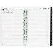 Day-Timer Original Dated 2-Page-per-Day Organiser Refill, January-December, 14cm x 22cm , 2014