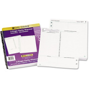 Day-Timer Reference Dated 2-Page-per-Day Organiser Refill, January-December, 22cm x 28cm , 2014
