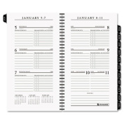 Recycled Executive Weekly Planner Refill, 3-1/4 x 6-1/4, 2014