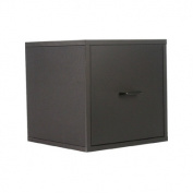 Storage Drawer Cube, Black