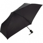 ShedRain WindPro Flat Vented Auto Open & Close Umbrella - Black