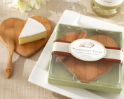 Kate Aspen ''Tastefully Yours'' Heart-Shaped Bamboo Cheese Board