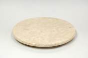 Evco International 74489 Champagne Marble 12 in. Round Board