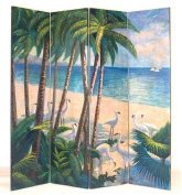 Wayborn Furniture 2216 64 x 72 Beach Screen Room Seperator