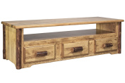 Montana Woodworks Glacier Country Sitting Chest / Entertainment Centre