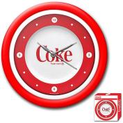 30.5cm Coca-Cola Clock Neon Retro Style Collectible