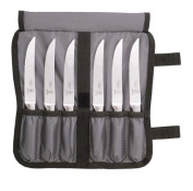 Mercer Tool M21920 Genesis Collection Forged Steak Knife Set - 7 Piece