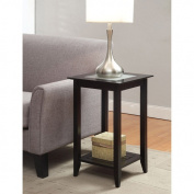 Convenience Concepts, Inc. Convenience Concepts Carmel Tall End Table, Black