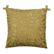 Rose Tree Linens Tuscan Garden Cotton Ribbon Pillow
