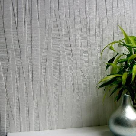 Brewster Home Fashions Anaglypta Paintable Folded Paper Textured Wallpaper