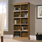 Sauder Barrister Lane Tall Bookcase, Scribed Oak