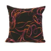 46cm Rich Embroidered Ribbon Decorative Throw Pillow
