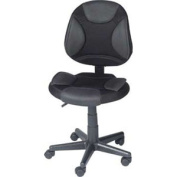 Z-Line Designs Grey and Black Task Chair