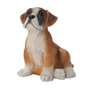 Design Toscano Boxer Puppy Dog Statue, Multicoloured