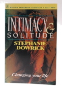 intimacy solitude [Paperback]