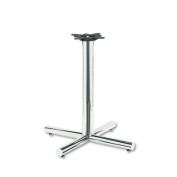 HON XSP26CHR Single Column Steel Base 26w x 26d x 27-7/8h Chrome