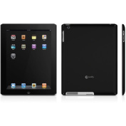 Macally Snap2 Case for iPad 2, Black