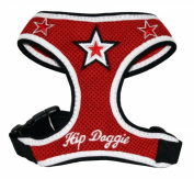 Hip Doggie HD-6RMST-XL Extra Large Red Super Star Harness Vest