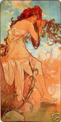 Hot Stuff Enterprise 3741-12x18-AD Summer Alphonse Mucha Poster