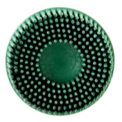 3M 7524 5.1cm Scotch-Brite Roloc Bristle Discs 50 Grit Coarse Green
