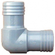 Genova Products 1-.63.5cm . Poly 90 degrees Insert Elbow 350714