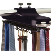 Richards Homewares Inc. 75750 BATTERY OPERATED- BLK Tie Rack