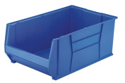 Akro-Mils AKM30290B Super-Size Storage Bin- Stackable- 18-.127cm .x29-.63.5cm .x30.5cm .- BE