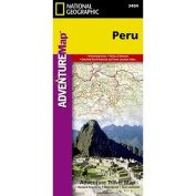 National Geographic Maps AD00003404 Peru Adventure Map