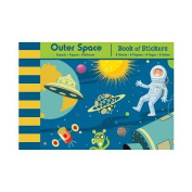 Mudpuppy Outer Space Book of Stickers