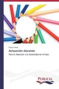 Actuacion Docente [Spanish]